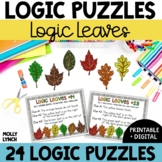 Logic Leaves Problem Solving {Logic Puzzles}