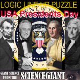Logic LineUp: Presidents of the USA (Washington, Jefferson, Lincoln, and FDR)