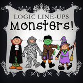 Halloween Logic Line-ups:  Monsters!