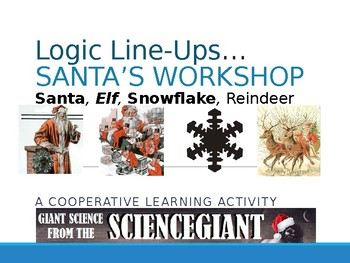 Logic LineUp PowerPoint: Santa's Workshop