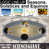 Logic LineUp: Seasons, Solstices, and Equinox Puzzle