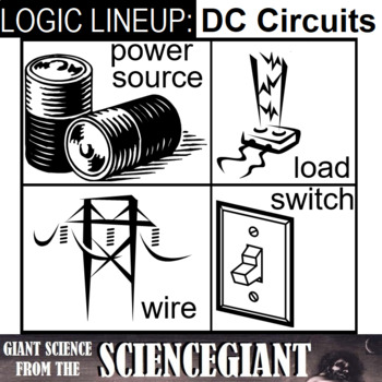 Logic LineUp: Circuit Path (Power, Load, Switch, and Wire)