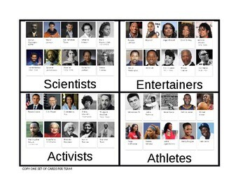 Logic LineUp: Black History Leaders and Achievers