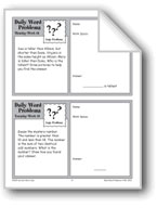 Logic Problems (Grade 3 Daily Word Problems-Week 19)