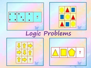 End of the year activities - Logic Problems - Fun Math