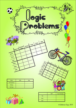 Logic Problems - Reasoning Skills for 9-14 year olds