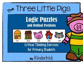 Logic Problems {Three Little Pig Edition}