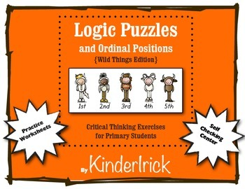 Logic Problems {Wild Things Edition}