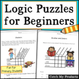 Logic Puzzles for Beginners (for Gifted and Talented or Br
