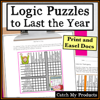 Logic Puzzles Grids