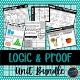 Logic & Proof Unit Bundle; Geometry, Laws, Reasoning, Truth Values