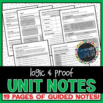 Logic & Proof Unit Notes