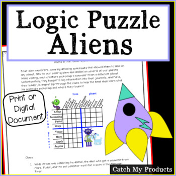 Logic Puzzle : Aliens and the Solar System