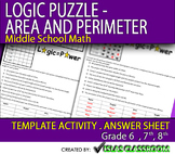 Logic Puzzle- Area and Perimeter