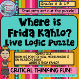 Logic Puzzle, Art History, Frida Kahlo