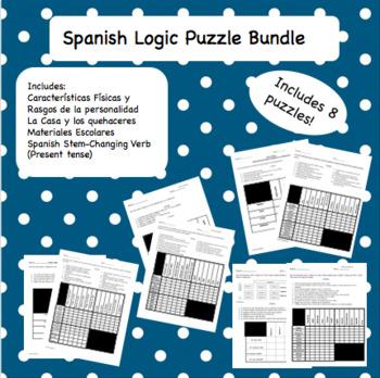 Logic Puzzle Bundle (Spanish)