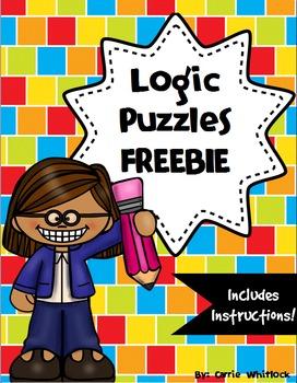 Logic Puzzle FREEBIE