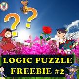 Mystery Logic Puzzle FREEBIE #2