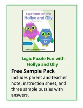 Logic Puzzle Fun with Hollye and Olly Free Sample Pack
