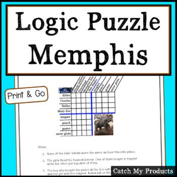 Logic Puzzle : Marvelous Memphis