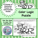 Logic Puzzle, Spring, Color Logic, Elimination, Problem Solving, Early Finishers