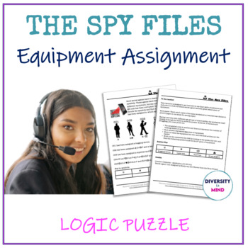 Equipment Assignment Logic Puzzle - The Spy Files