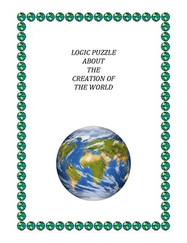 Logic Puzzle about the Creation of the World