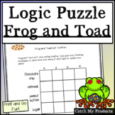 Logic Puzzle for Second Grade Frog and Toad