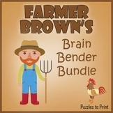 Farmer Browns Brain Bender Pack: Spatial Logic Puzzles