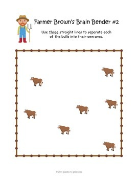 Farmer Browns Brain Bender Pack: Spatial Logic Puzzles