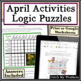 50% OFF for 24 Hours  Logic Puzzles - April Logic Bundle f