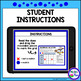 Logic Puzzle Brain Teasers with Grids - Paperless Digital Activity - Winter