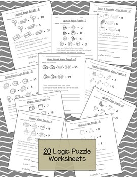 Logic Puzzles {Bundle}