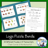 Logic Puzzles {Bundle}