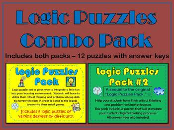 Logic Puzzles Combo Pack