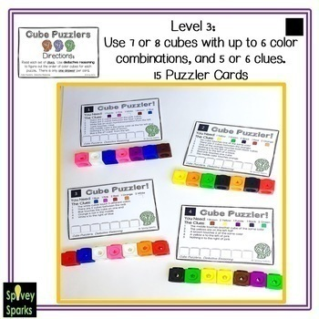 Logic Puzzles Problem Solving Task Cards