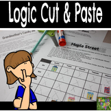 Logic Puzzles Cut and Paste