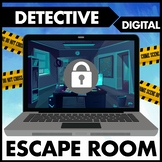 Logic Puzzles Digital Escape Room:  Distance Learning