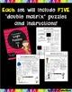 Double Matrix Logic Puzzles Bundle