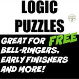 Logic Puzzles: FREE logic puzzle sampler