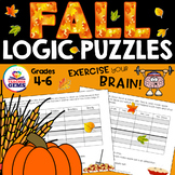 Fall Theme Logic Puzzles