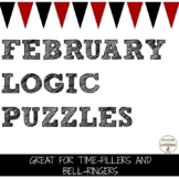 February Logic Puzzles for Valentine's math