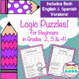 Logic Puzzles For Enrichment and Critical Thinking!