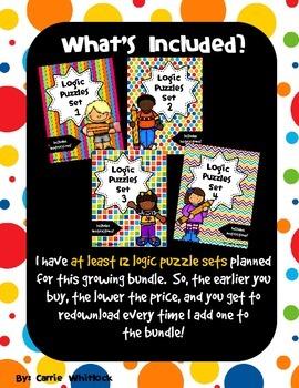 Logic Puzzles - Bundle