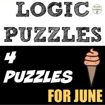 Logic Puzzles - June Logic Puzzles