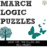 Logic Puzzles for March and Spring