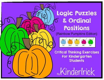 Logic Puzzles Math Center- Pumpkin Edition