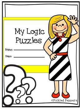 Logic Puzzles Math Pack 1