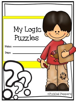 Logic Puzzles Math Pack 2