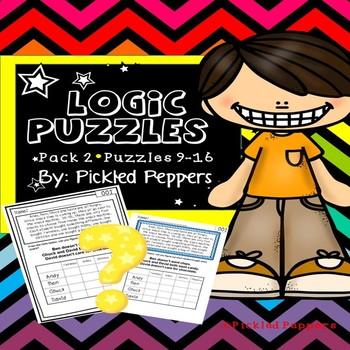 Logic Puzzles Math Pack 2